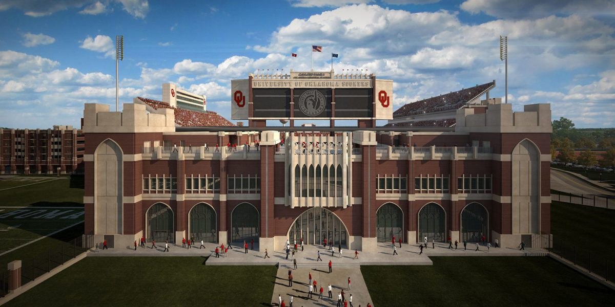 2018 Oklahoma Memorial Stadium