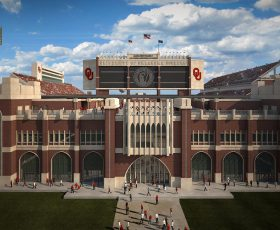 Oklahoma Memorial Stadium - OK